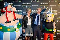 LAURENT GARRET - Vernissage de l' exposition Goscinny - La Cinematheque francaise 02 octobre 2017 - Paris - France