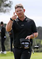 Kieran Muir wins the Jennian Homes Charles Tour Taranaki Open, New Plymouth Golf Course, Sunday 18 October 2020. Photo: Simon Watts/www.bwmedia.co.nz