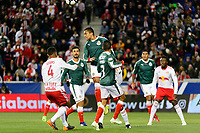 Harrison, NJ - Tuesday April 10, 2018: Edwin Hernández during leg two of a  CONCACAF Champions League semi-final match between the New York Red Bulls and C. D. Guadalajara at Red Bull Arena. C. D. Guadalajara defeated the New York Red Bulls 0-0 (1-0 on aggregate).