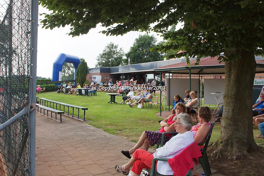 2013-08-17, Netherlands, Raalte,  TV Ramele, Tennis, NRTK 2013, National Ranking Tennis Champ,  Ambiance<br /> <br /> Photo: Henk Koster