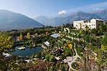 Italien, Suedtirol, Meran: Schloss Trautmannsdorff, Botanischer Garten, Park | Italy, South Tyrol, Alto Adige, Merano: Castle Trautmannsdorff, Botanical Garden, Park