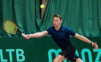 Wateringen, The Netherlands, March 16, 2018,  De Rhijenhof , NOJK 14/18 years, Nat. Junior Tennis Champ.  Zachary Elsinga (NED)<br />  Photo: www.tennisimages.com/Henk Koster