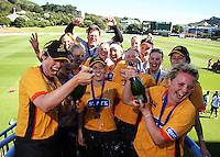 090125 Women's T20 Cricket Final - Wellington Blaze v Canterbury Magicians