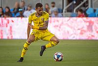 San Jose, CA - Saturday August 03, 2019: Artur #8 in a Major League Soccer (MLS) match between the San Jose Earthquakes and the Columbus Crew at Avaya Stadium.