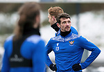 St Johnstone Training...   29.01.21<br />Craig Bryson pictured during a training session at McDiarmid Park this morning ahead of tomorrows game at Kilmarnock.<br />Picture by Graeme Hart.<br />Copyright Perthshire Picture Agency<br />Tel: 01738 623350  Mobile: 07990 594431