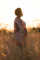 Portrait of community development officer standing at Mhlumeni Bush Camp, Eswatini