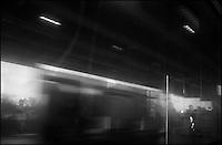 """From """"Life to Waste"""" series.<br /> Miami Metrorail, Miami, FL"""