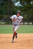 GCL Pirates right fielder Mason Martin (22) runs the bases during a game against the GCL Tigers West on July 17, 2017 at TigerTown in Lakeland, Florida.  GCL Tigers West defeated the GCL Pirates 7-4.  (Mike Janes/Four Seam Images)