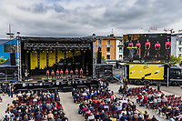Team Arkéa Samsic at the pre Tour teams presentation of the 108th Tour de France 2021 in Brest at le Grand Départ.<br /> <br /> 108th Tour de France 2021<br /> <br /> ©kramon