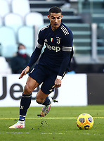 Calcio, Serie A: Juventus - Bologna, Turin, Allianz Stadium, January 24, 2021.<br /> Juventus' Cristiano Ronaldo in action during the Italian Serie A football match between Juventus and Bologna at the Allianz stadium in Turin, January 24, 2021.<br /> UPDATE IMAGES PRESS/Isabella Bonotto