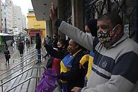 21/08/2020 - TRABALHADORES EM GREVE DOS CORREIOS FAZEM CARREATA