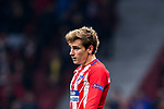 Antoine Griezmann of Atletico de Madrid looks on during the UEFA Europa League 2017-18 Round of 16 (1st leg) match between Atletico de Madrid and FC Lokomotiv Moscow at Wanda Metropolitano  on March 08 2018 in Madrid, Spain. Photo by Diego Souto / Power Sport Images