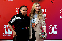 LOS ANGELES - JUL 12:  Raven-Symone, Miranda Maday at the Space Jam:  A New Legacy Premiere at the Microsoft Theater on July 12, 2021 in Los Angeles, CA