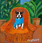 """EXAMPLE Acrylic on Canvas 11x11<br /> """"Dixie"""""""
