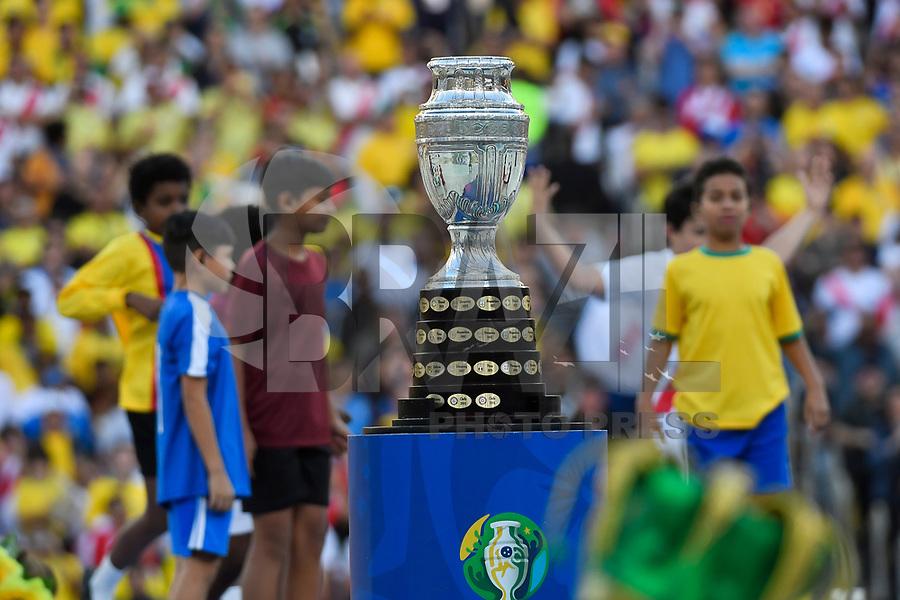 Rio de Janeiro (RJ), 07/07/2019 - Copa América / Final / Brasil x Peru - <br /> <br /> <br />  Cerimônia de encerramento da Copa América, no Estádio Maracanã, neste domingo, 07. (Foto: Ricardo Botelho/Brazil Photo Press)