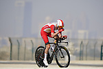 Kenneth Vanbilsen (BEL) Cofidis during Stage 2 of the 2021 UAE Tour an individual time trial running 13km around  Al Hudayriyat Island, Abu Dhabi, UAE. 22nd February 2021.  <br /> Picture: Eoin Clarke | Cyclefile<br /> <br /> All photos usage must carry mandatory copyright credit (© Cyclefile | Eoin Clarke)