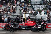 2017 Verizon IndyCar Series - Firestone Grand Prix of St. Petersburg<br /> St. Petersburg, FL USA<br /> Sunday 12 March 2017<br /> Mikhail Aleshin pit stop<br /> World Copyright:Sam Cobb/LAT Images<br /> ref: Digital Image cobb-stpete-170312-4423