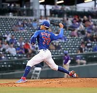 Adbert Alzolay - Chicago Cubs 2021 spring training (Bill Mitchell)