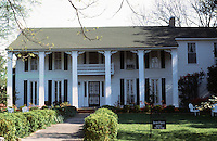 Oxford:  Isom Place, 1003 Jefferson, 1838.  Present house, later days.  Now home of the Barksdale Reading Institute.