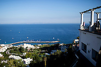 Marina Grande is seen on Tuesday, Sept. 22, 2015, on the island of Capri in Italy. (Photo by James Brosher)