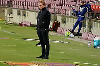29th December 2020; Camp Nou, Barcelona, Catalonia, Spain; La Liga Football, Barcelona versus Eibar;  Ronald Koeman FC Barcelona coach keeps a close watch on his team