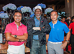 Morgan Freeman arrives at the Mission Hills Celebrity Pro-Am on 23 October 2014, in Haikou, China. Photo by Xaume Olleros / Power Sport Images