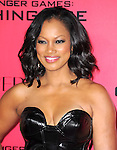 LOS ANGELES, CA - NOVEMBER 18: Garcelle Beauvais arrives at   THE HUNGER GAMES: CATCHING FIRE L.A. Premiere held at Nokia Live  in Los Angeles, California on November 18,2012                                                                               © 2013  Hollywood Press Agency