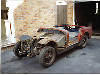 BNPS.co.uk (01202 558833)<br /> Pic: DavidTownend/BNPS<br /> <br /> Pictured: The car was completely stripped<br /> <br /> A dad who bought a run down sports car the year his first child was born has finished restoring it 27 years later - just in time for his son's wedding.<br /> <br /> David Townend, 60, bought the 1974 MG Midget in 1994 for almost £300.<br /> <br /> He kept the rusty motor in his garage with the intention of returning it to its former glory.<br /> <br /> But 'life got in the way' and the restoration project was put on the back burner.