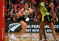 17.09.2016 Silver Ferns Maia Wilson in action during the Taini Jamison netball match between the Silver Ferns and Jamaica played at the Energy Events Centre in Rotorua. Mandatory Photo Credit ©Michael Bradley.