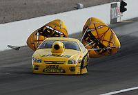 Nov. 1, 2008; Las Vegas, NV, USA: NHRA pro stock driver Jeg Coughlin Jr during qualifying for the Las Vegas Nationals at The Strip in Las Vegas. Mandatory Credit: Mark J. Rebilas-