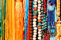 Beads and Ribbons for sale in Lhasa, Tibet