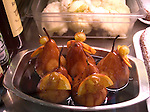 Glazed Pears, Da Rocca Restaurant, Florence, Italy, Italian, Europe