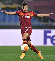 Stephan El Shaarawy of AS Roma in action during the Europa League round of 32 2nd leg football match between AS Roma and Sporting Braga at stadio Olimpico in Rome (Italy), February, 25th, 2021. Photo Andrea Staccioli / Insidefoto