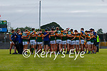 The Kerry team after the Allianz Football League Division 1 Semi-Final, between Tyrone and Kerry at Fitzgerald Stadium, Killarney, on Saturday.