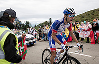 Thibaut Pinot (FRA/Groupama-FDJ) up the Col de Marie Blanque (1st Cat)<br /> <br /> Stage 9 from Pau to Laruns (153km)<br /> <br /> 107th Tour de France 2020 (2.UWT)<br /> (the 'postponed edition' held in september)<br /> <br /> ©kramon