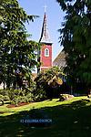 Church Steeple, Bamfield, British Columbia.