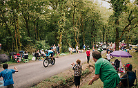 Andrey Amador (CRC/Team Movistar)<br /> <br /> Stage 20 (ITT): Saint-Pée-sur-Nivelle >  Espelette (31km)<br /> <br /> 105th Tour de France 2018<br /> ©kramon