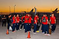 USMNT vs Honduras, Training and Travel 2013