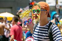 São Paulo, SP, 23.02.2018: BLOCO CASA COMIGO CARNAVAL 2019 -SP- Desfile do Bloco de Carnaval Casa Comigo, que agita os foliões na Avenida Faria Lima, Zona Oeste de São Paulo neste sábado (23).(Foto: Marivaldo Oliveira /Código19)
