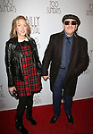 Diana Krall and Elvis Costello   attends the Broadway Opening Night Performance of 'Billy Crystal - 700 Sundays' at the Imperial Theatre in New York City on November 13, 2013.