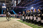 JETS riders attend a Hong Kong Jockey Club Master Class as part of the Longines Hong Kong Masters on 13 February 2015, at the Asia World Expo, outskirts Hong Kong, China. Photo by Li Man Yuen / Power Sport Images