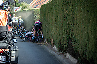 Leo Hayter (GBR/Development Team Sunweb) involved in a crash <br /> <br /> Heistse Pijl 2020<br /> One Day Race: Heist-op-den-Berg > Heist-op-den-Berg 190km  (UCI 1.1)<br /> ©kramon