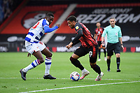 Arnaut Danjuma of AFC Bournemouth takes on Alfa Semedo of Reading during AFC Bournemouth vs Reading, Sky Bet EFL Championship Football at the Vitality Stadium on 21st November 2020
