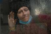 Die 39 Jährige Tanya ist seit 5 Jahren obdachlos. Für sie hat sich die Situation während der Corona Krise noch verschlimmert. / Tanya, 39 years old, has been homeless for 5 years. For her, the situation got even worse during the Corona crisis.<br /><br />Obdachlose in Kiew während der Corona Krise. Es gibt nach inofiziellen Schätzungen bis zu 20000 Obdachlose in der ukrainischen Hauptstadt. Viel stattliche Hilfe gibt es nicht, aber kleine Organisationen versuchen das nötigste zu organisieren. / Homeless in Kiev during the Corona crisis. According to unofficial estimates, there are up to 20000 homeless people in the Ukrainian capital. There is not much help, but small organizations try to organize the most necessary.