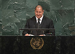 72 General Debate – 22 September <br /> <br /> <br /> <br /> Address by His Majesty King Tupou VI, King of the Kingdom of Tonga