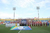 IBAGUÉ - COLOMBIA, 19-09-2021: Deportes Tolima y el Deportivo Cali en partido por la fecha 10 como parte de la Liga BetPlay DIMAYOR II 2021 jugado en el estadio Manuel Murillo Toro de la ciudad de Ibagué / Deportes Tolima and Deportivo Cali in match for the date 10 as part of the BetPlay DIMAYOR League II 2021 played at Manuel Murillo Toro stadium in Ibague city. Photo: VizzorImage / Felipe Caicedo / Staff