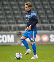 20th April 2021; Liberty Stadium, Swansea, Glamorgan, Wales; English Football League Championship Football, Swansea City versus Queens Park Rangers; Stefan Johansen of Queens Park Rangers during the warm up