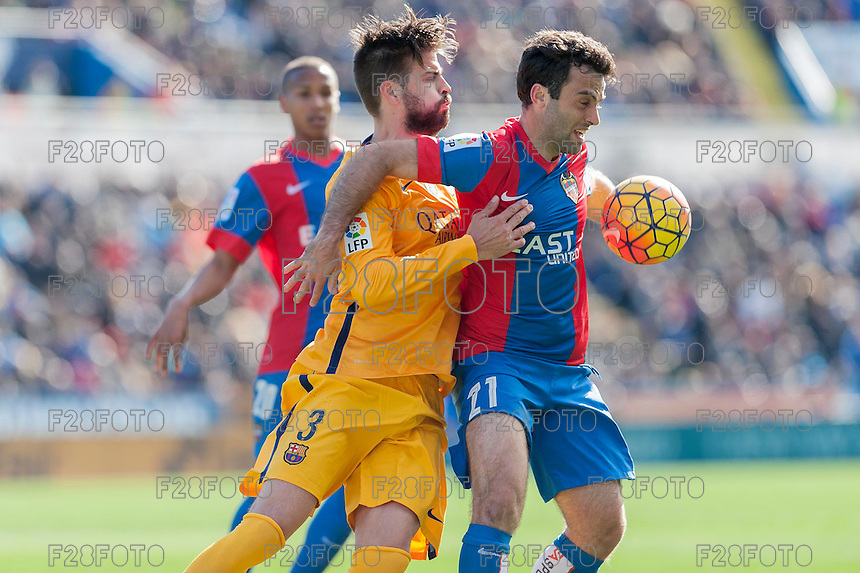 Levante 0-2 Barcelona (7-2-2016)