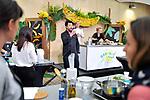 PIERRE-SANG  BOYER   2012 OUVERTURE DU RETAURANT FRANCO COREEN   PIERRE SANG IN OBERKAMPF PARIS                                           2 E EDITION BANANAMANIA  /AIB                      MASTER CLASSES ATELIERS PIERRE-SANG BOYER