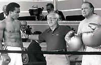 Sugar Ray Leonard, Micky Rooney, Bob Hope<br /> 1979<br /> Photo By John Barrett/PHOTOlink